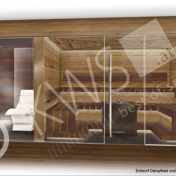 KWS-Privat spa Dampfbad und Sauna